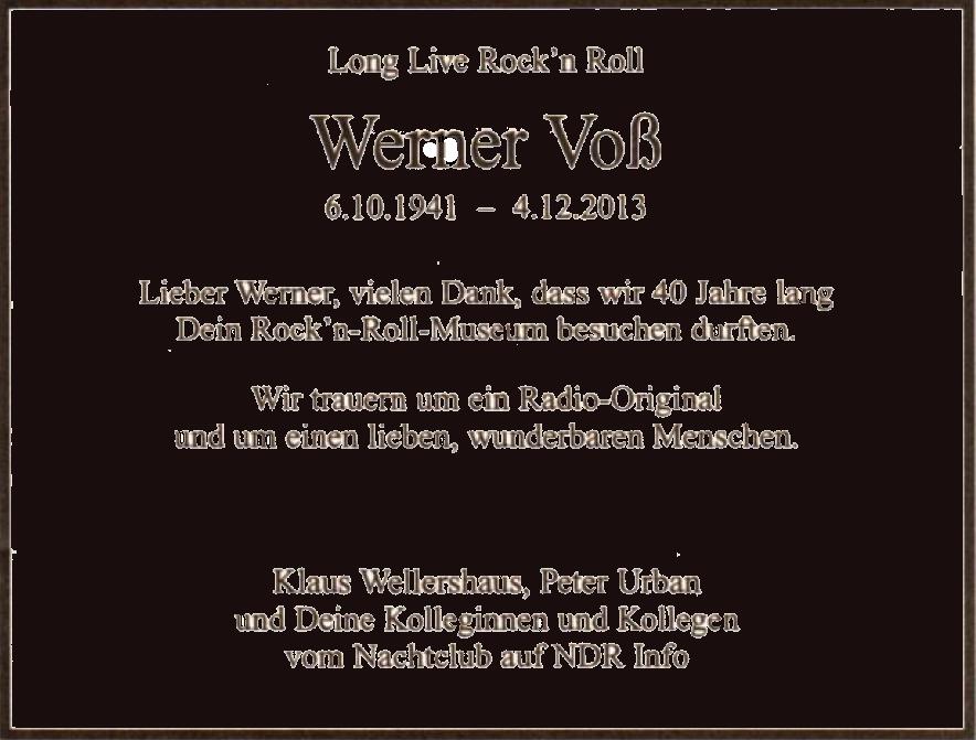 NDR*Rockn Roll Museum*Werner Voss*501-581*rias1 de